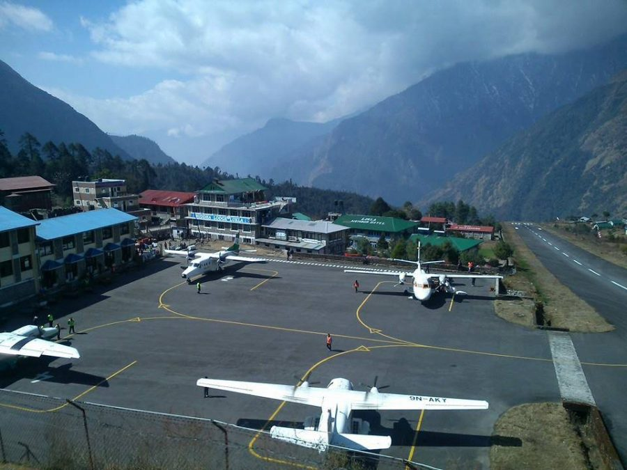 Lukla Airport chola pass trek