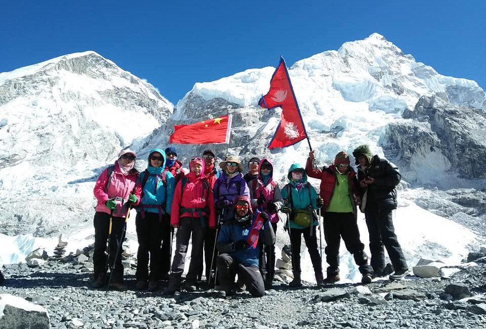 Everest three high pass trek view from everest base camp trek