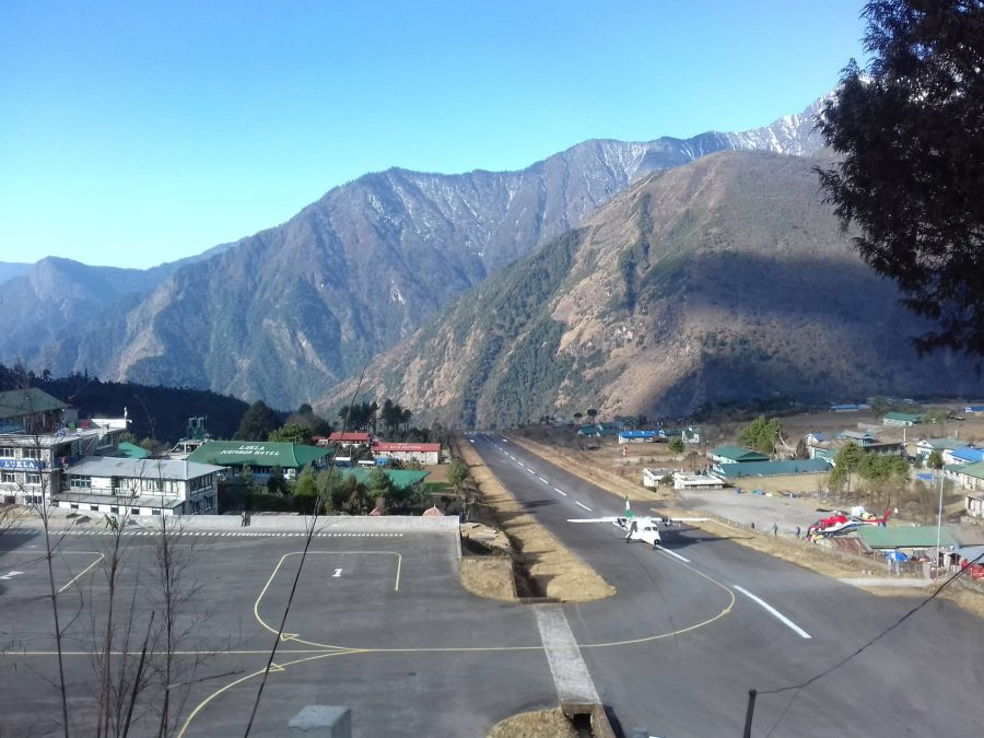 Lukla Airport starting point of Everest Horse ride trek.