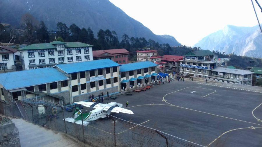 Everest Short Trek, Lukla airport.
