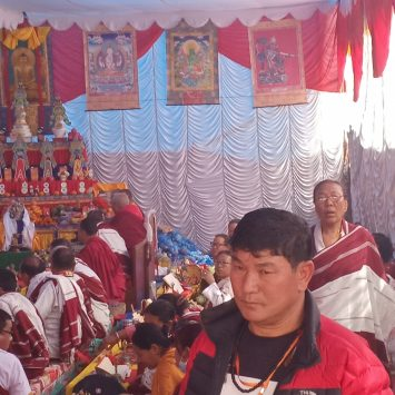 Butan tour Puja by Lama